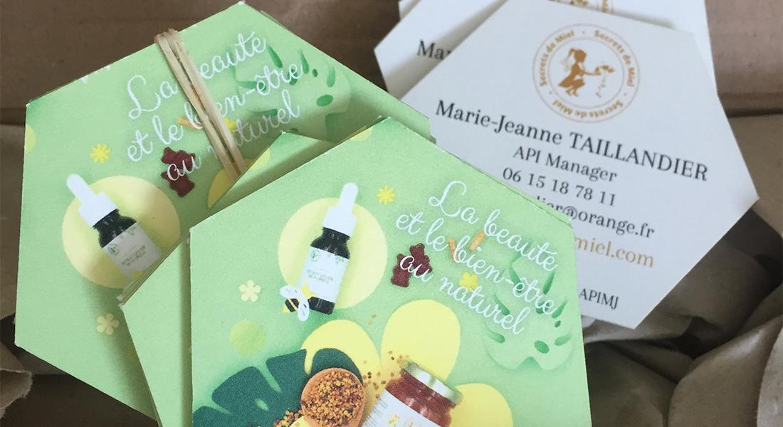 Secrets de miel – cartes de visite
